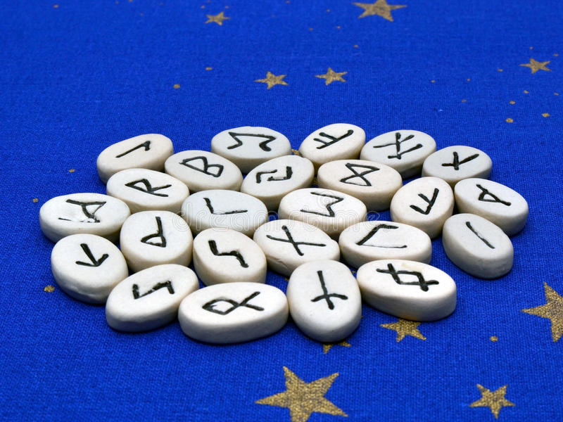 Download Rune Stones stock image. Image of up, mystery, telling - 27758951