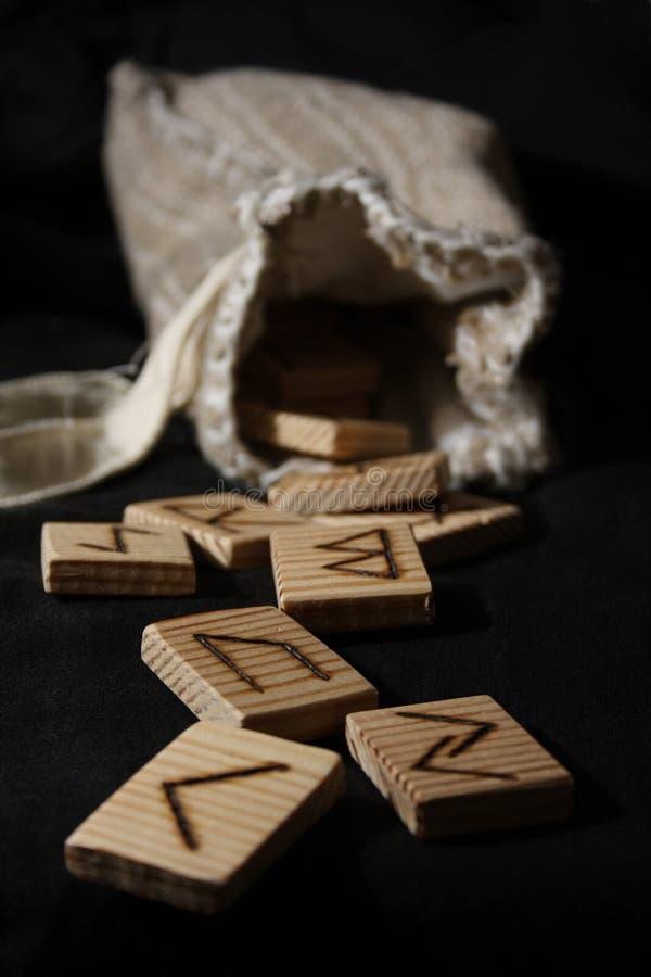Runen stock fotografie