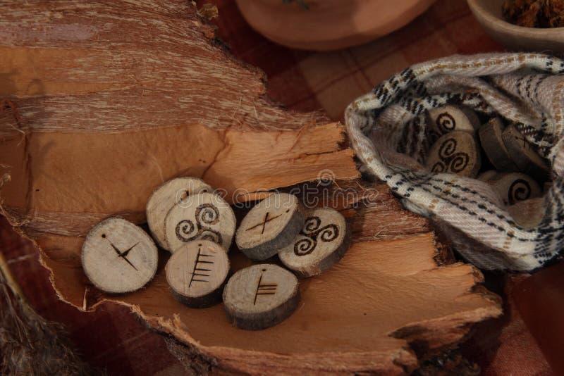 runes стоковая фотография