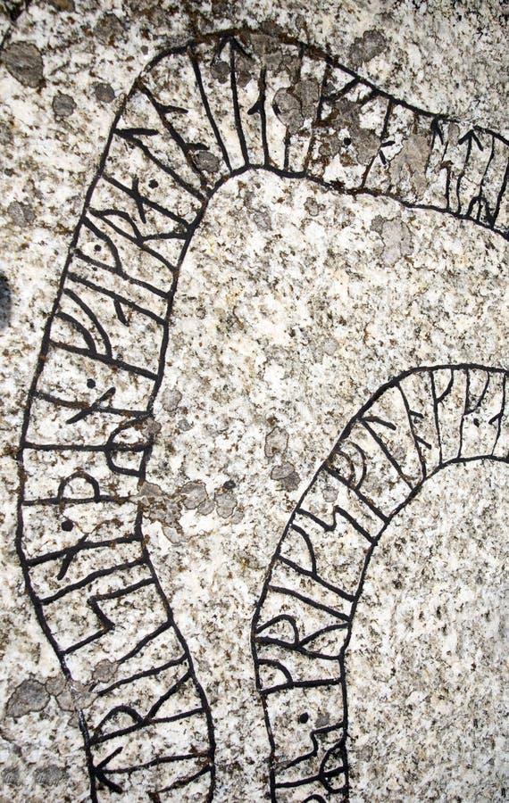 Runes fotografia de stock