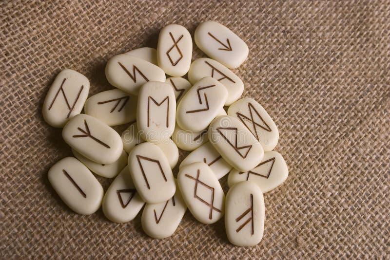 runes fotografia royalty free