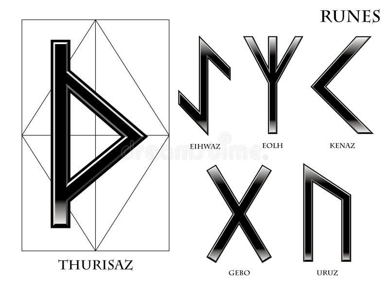 runes royalty ilustracja