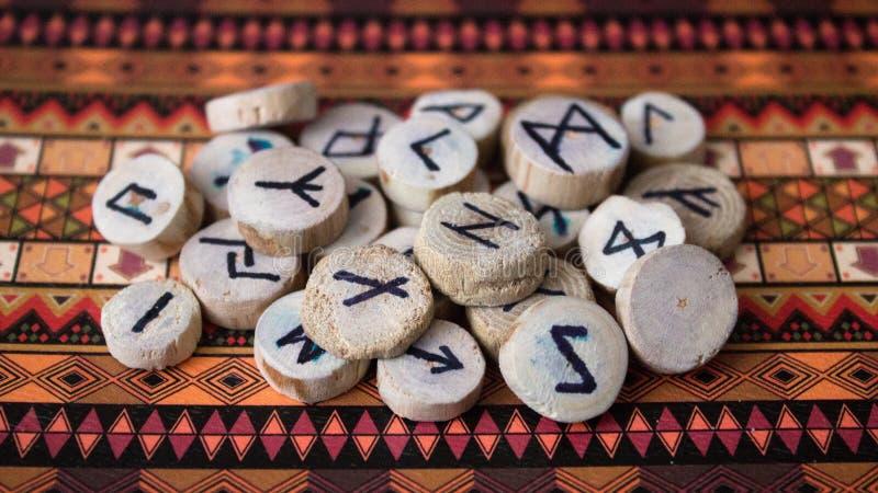 runes zdjęcie stock