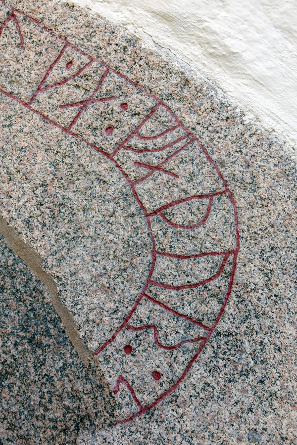 runes obraz royalty free