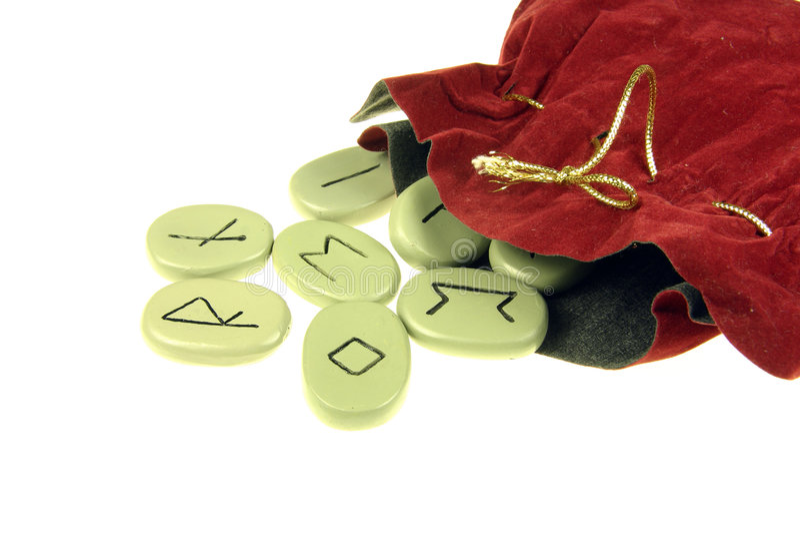 runes Viking fotografia stock