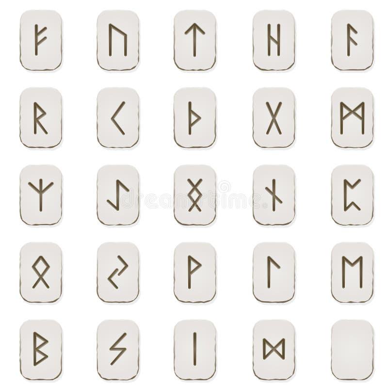 Runeset lizenzfreie abbildung