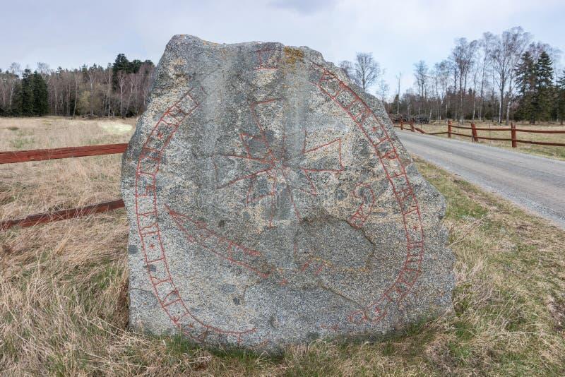 Runestone zdjęcia royalty free