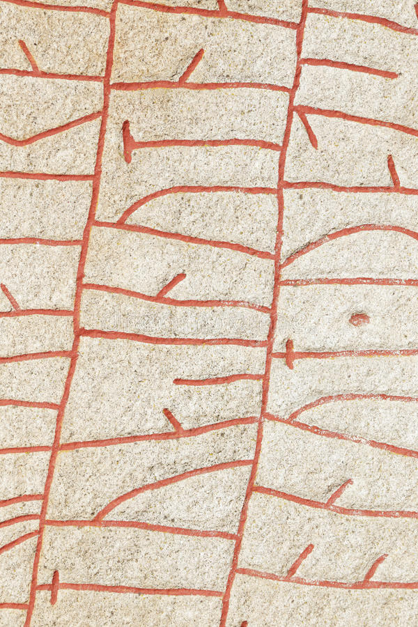 Runestone fotografia de stock