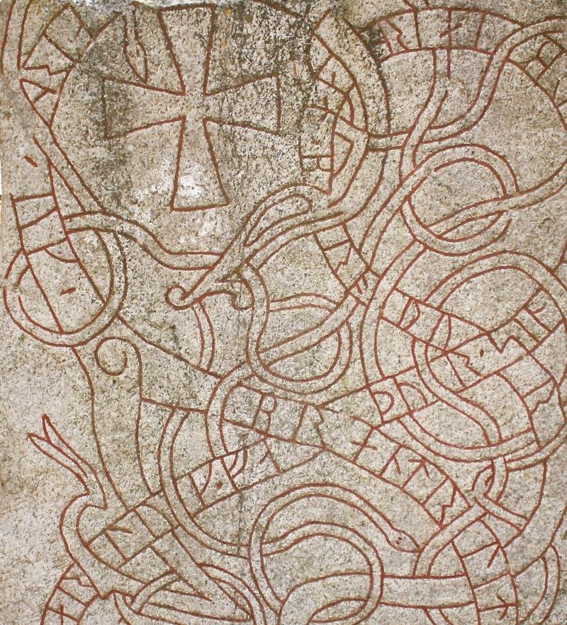 Runestone 免版税图库摄影