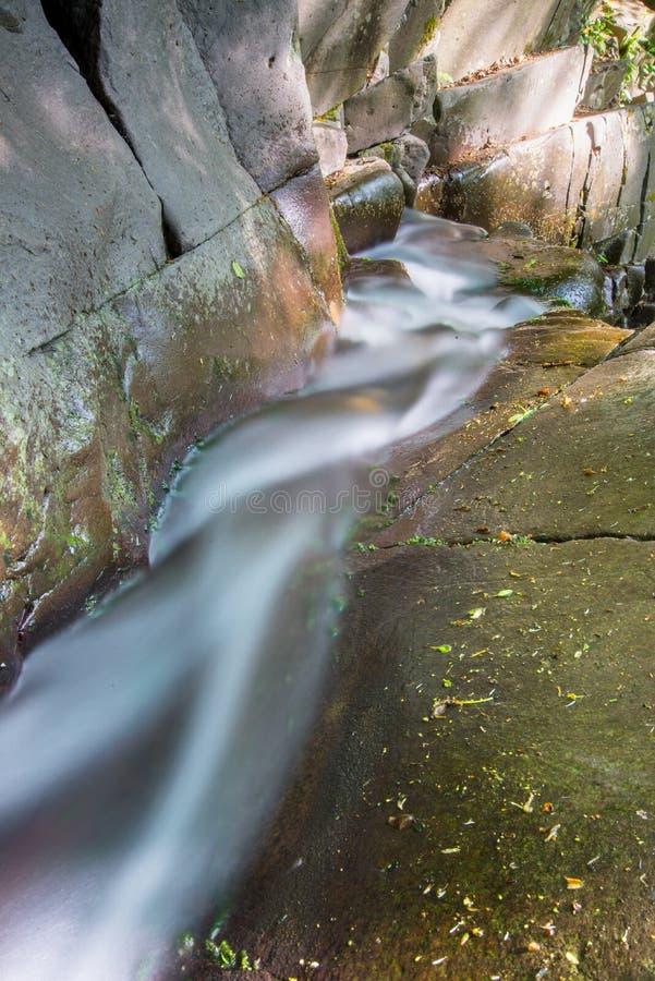 runing вода стоковая фотография