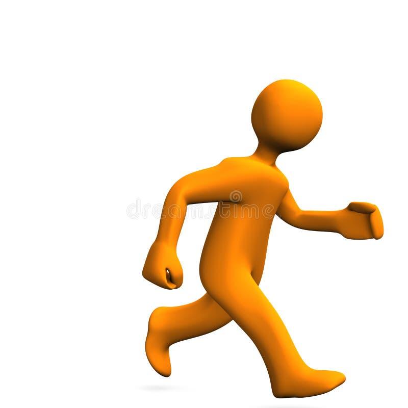 Download Runner stock illustration. Image of figure, helmet, icon - 27426546
