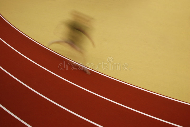 The runner royalty free stock photos