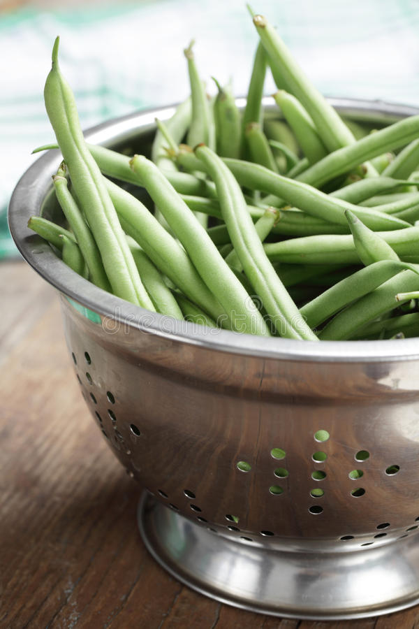 Download Runner bean stock photo. Image of rustic, legume, steel - 15938452