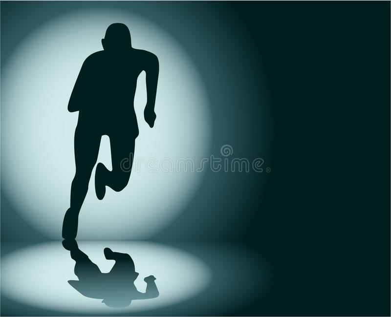 Download Runner stock vector. Illustration of abstract, fitness - 30442879