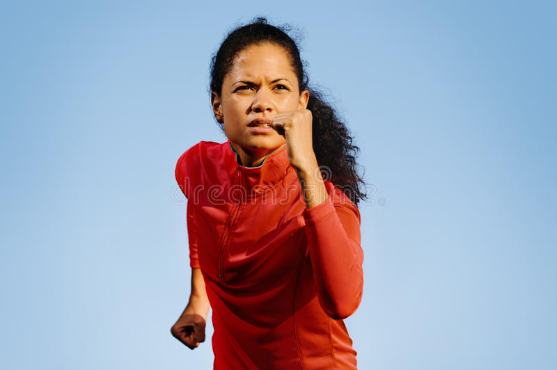 Download Runner Portrait Royalty Free Stock Image - Image: 25581876