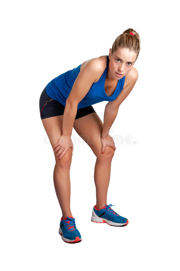 Download Runner Resting stock photo. Image of recreation, fitness - 28668728