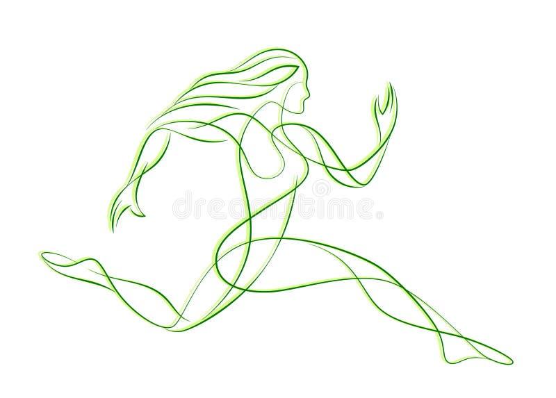 Runner vector illustration