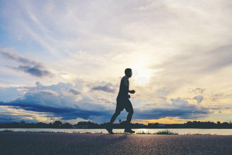 Runner`s Feet, Motion Blurred runner closeup shot runner runnin royalty free stock photography