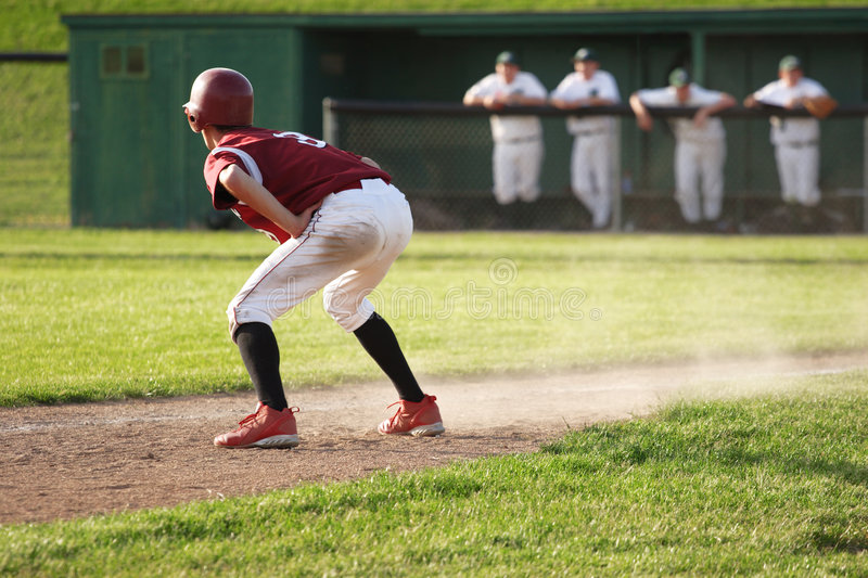 Download Runner at Third stock photo. Image of infield, league, helmet - 808794