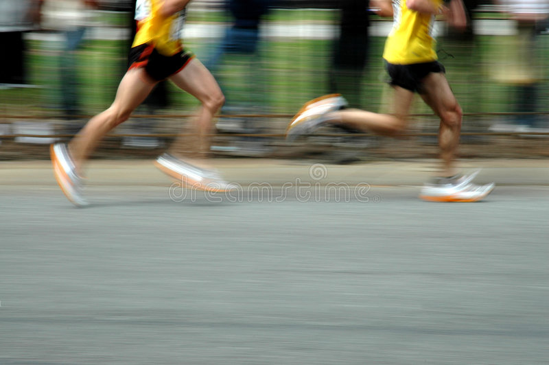 Runners royalty free stock image