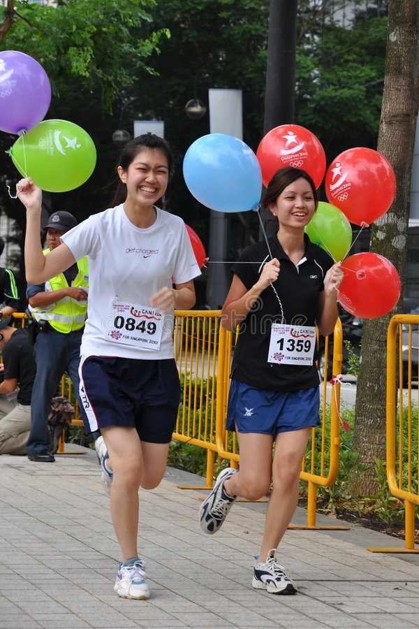 Download Runners At Create Action Now! (CAN) Run Editorial Image - Image: 7728945