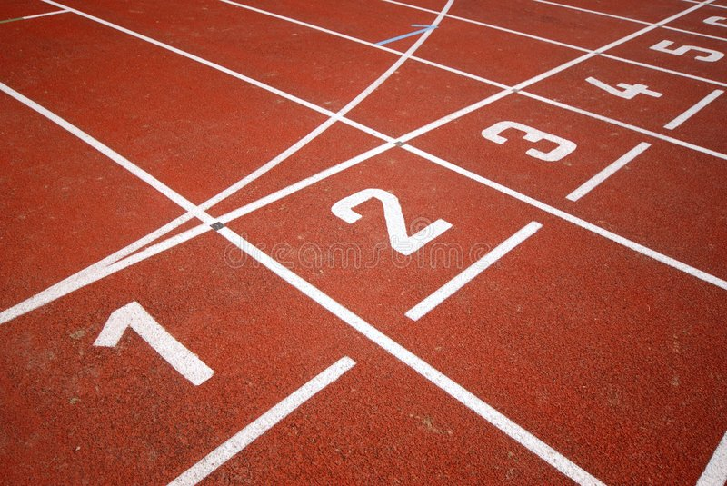 Download Runners Racetrack Stock Images - Image: 3565624