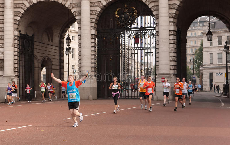 Download Runners In The Royal Parks Half Marathon, London Editorial Image - Image: 16428585