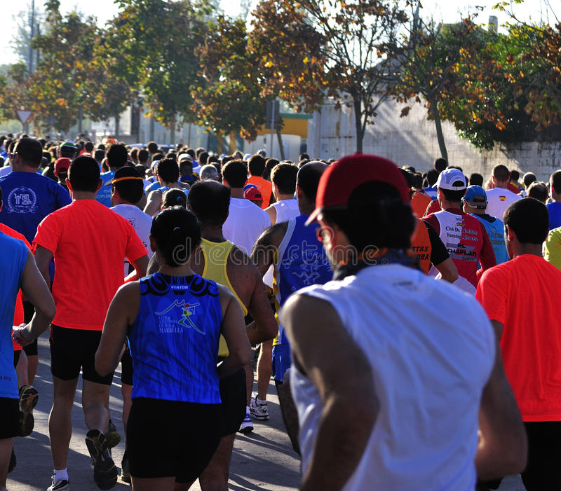 Download Runners On Start Of The Half Marathon Editorial Photo - Image: 22237441