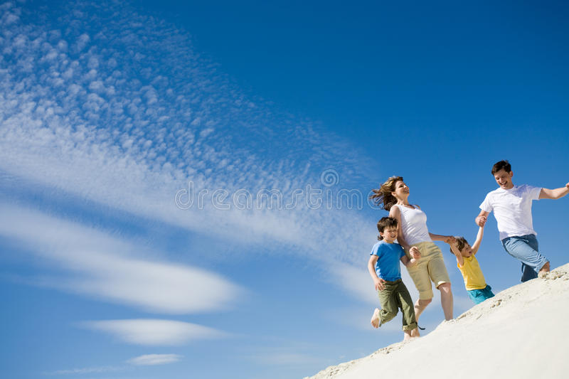 Download Running stock photo. Image of parent, energetic, moving - 10494956