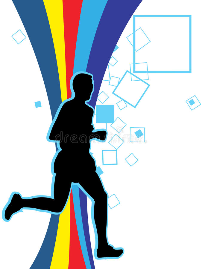 Download Running stock illustration. Image of athletic, champions - 11267478