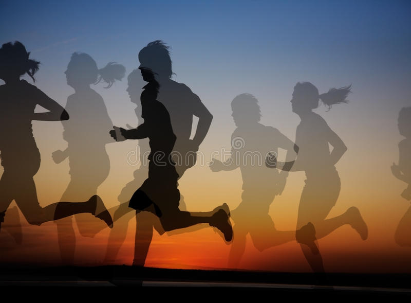 Running stock photography