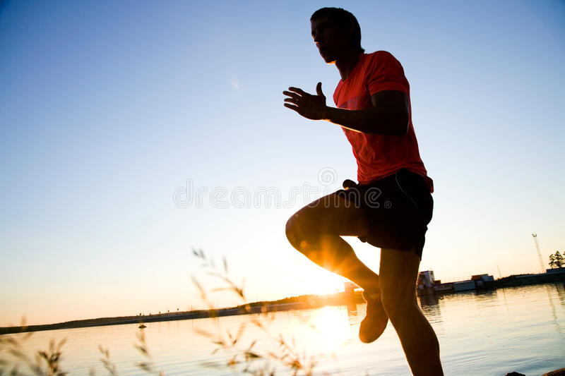 Running stock image