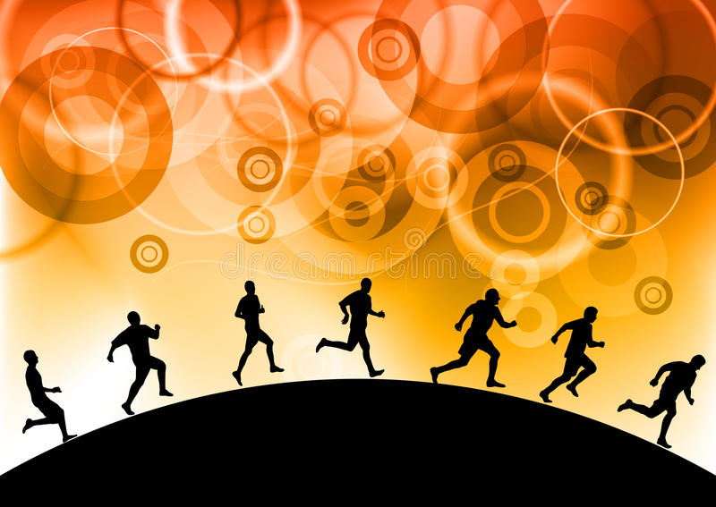 Download Running stock vector. Image of motion, person, image - 19537258