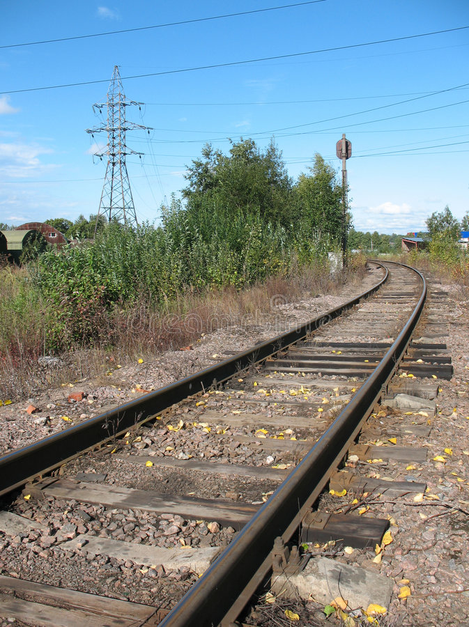 Dead End Siding Stock Image Image Of Crushed Railroad