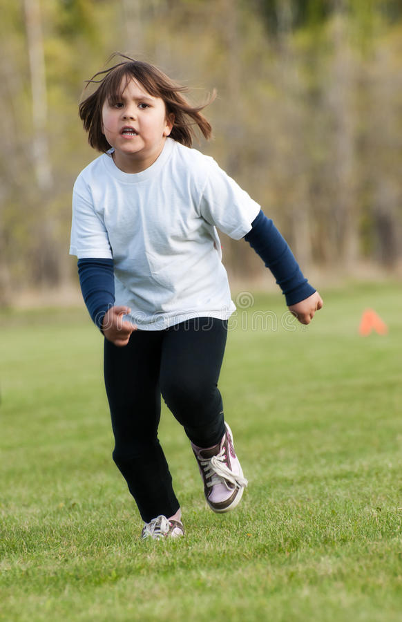 Running Child Royalty Free Stock Images