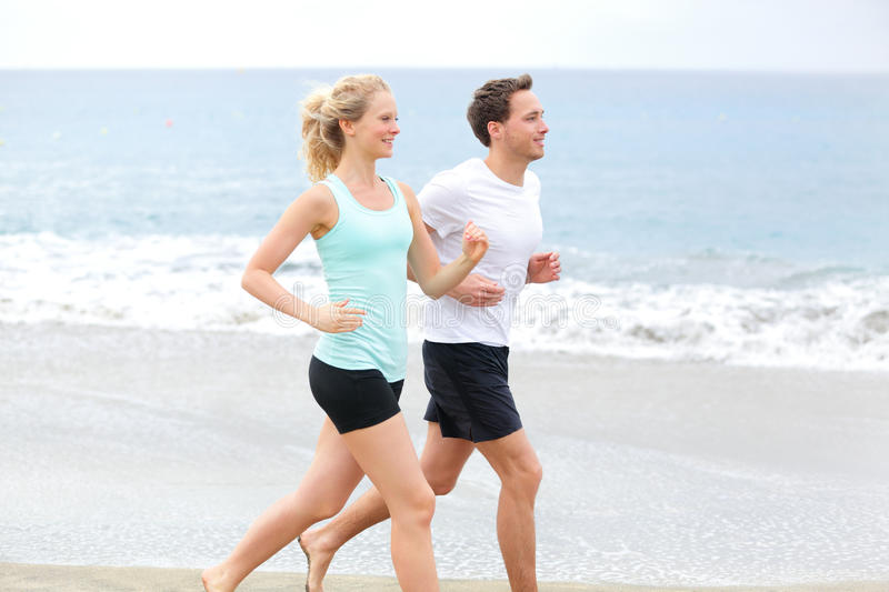Download Running couple stock image. Image of partners, couples - 39510355