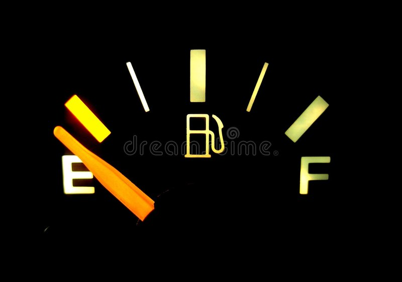 Download Running on Empty stock image. Image of deplete, gauge, gasoline - 264783