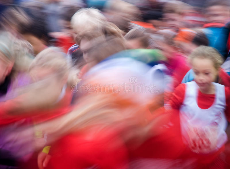 Running event stock image