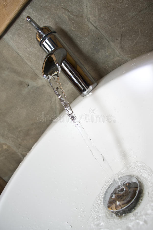 Download Running faucet stock image. Image of leaking, shiny, home - 14163323