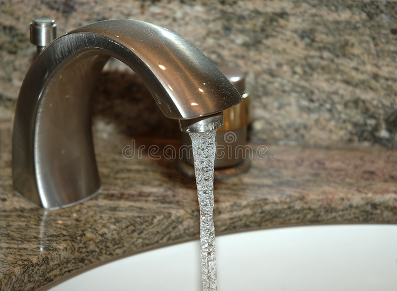Running Faucet royalty free stock photos
