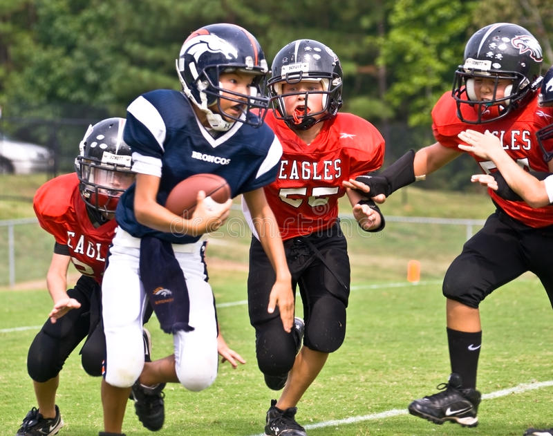 Running a Football/Youth League royalty free stock photos