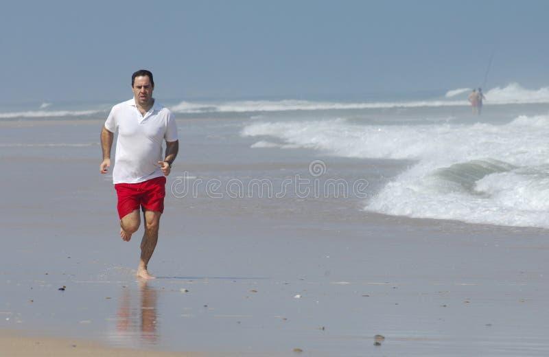 Running full of energy royalty free stock photo