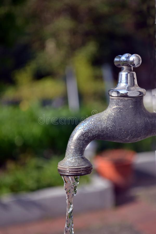 garden faucet. Download A Running Garden Faucet Tap Stock Image - Of Cold, Household: 19294887 F