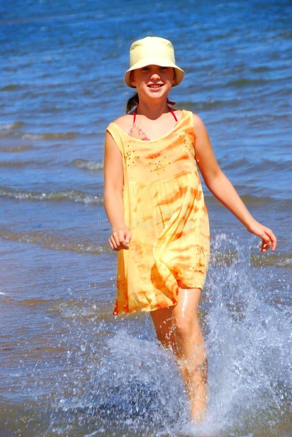 Download Running girl stock image. Image of girls, childhood, female - 1701653