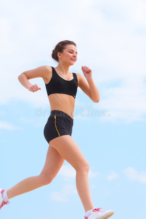 Download The running girl stock photo. Image of legs, lifestyle - 2596506