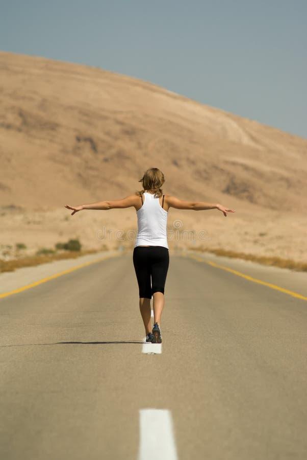 Free Running Girl Stock Photos - 6756663