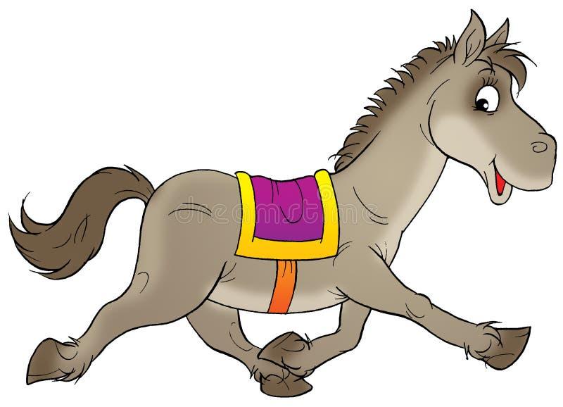 running horse stock illustration illustration of children 1660680 rh dreamstime com animated horse running clipart animated horse running clipart