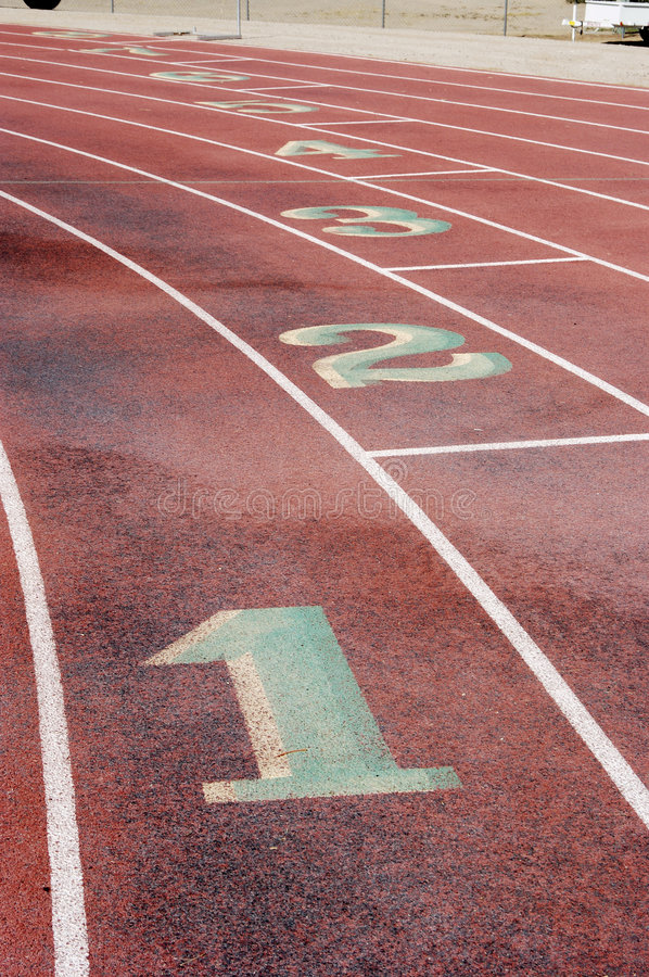 Download Running Lanes, 4 stock photo. Image of athlete, line, mark - 709028