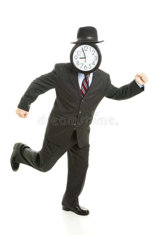 Running Late Royalty Free Stock Photography