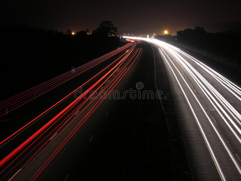 Running Lights royalty free stock photography